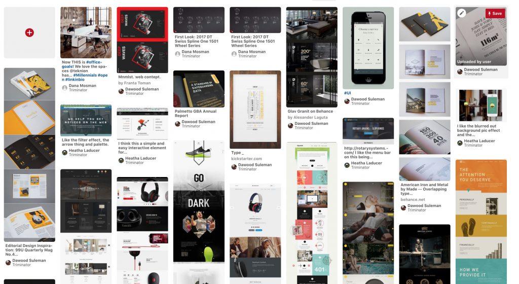 Pinterest Landing Page